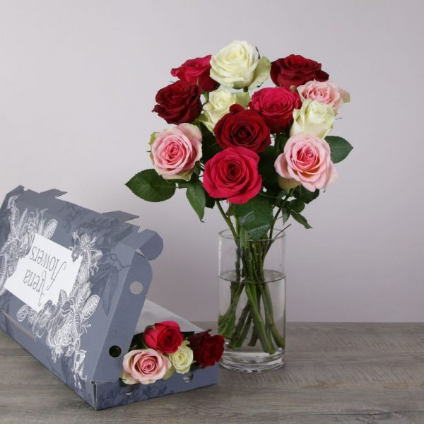Romantic Letterbox - flowers