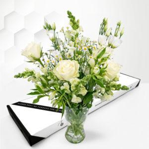 Elegant Avalanche - Letterbox Flowers - Letterbox Flowers UK - Send Letterbox Flowers - Cheap Letterbox Flowers